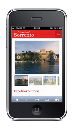 Friends of Sorrento Application